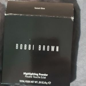 Bobbi brown highlighter in sunset glow